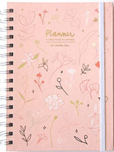 PLANNER: Flores para tu semana
