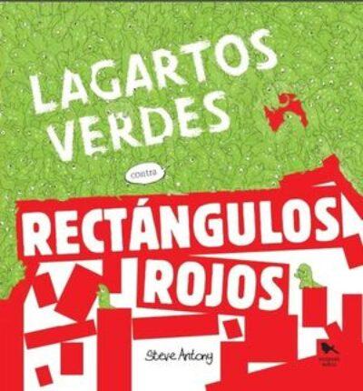 Lagartos Verdes Contra Rectangulos Rojos